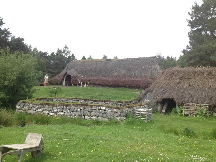 Baile Gean Township at the Highland Folk Museum