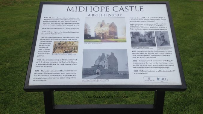 Midhope Castle History