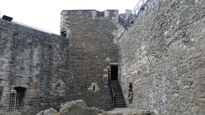 Blackness Castle inside