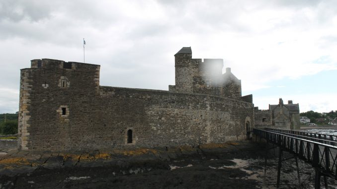 Blackness Castle outside