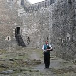 Blackness Castle piper