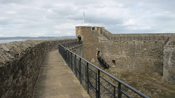 Blackness Castle wall