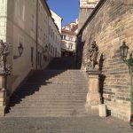 Prague steps (Radnicke schody)