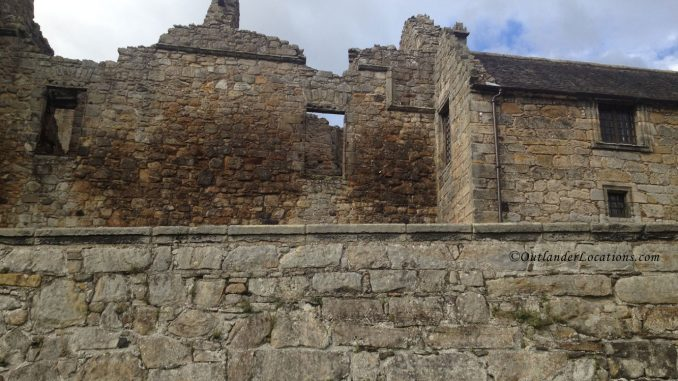 Aberdour Castle Rear