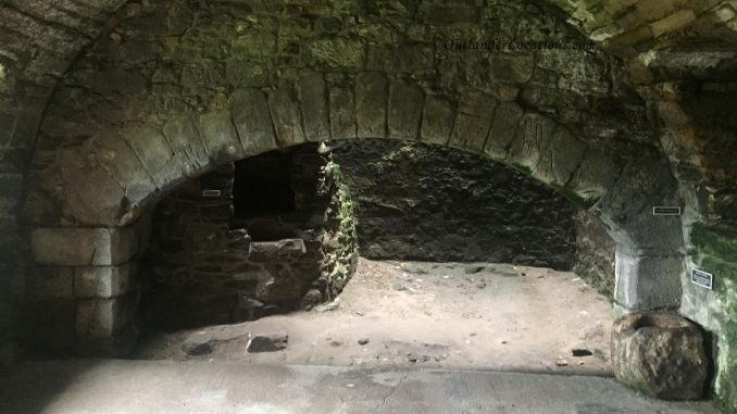 Aberdour Castle Old Kitchen