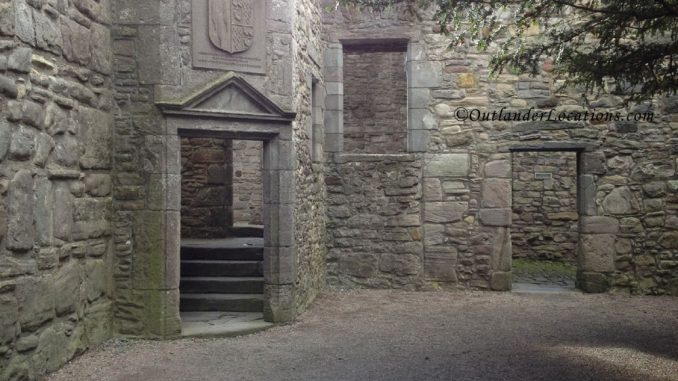Craigmillar Castle doorway