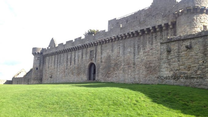 Craigmillar Castle - front