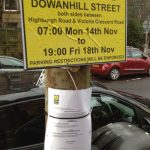 Dowanhill Street Sign