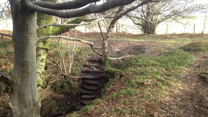 Devil's Pulpit Stairs