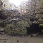 Dunure Castle Inside