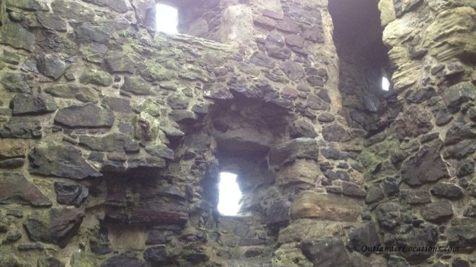 Dunure Castle Inside