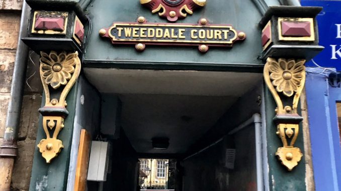 Tweeddale Court Filming Location
