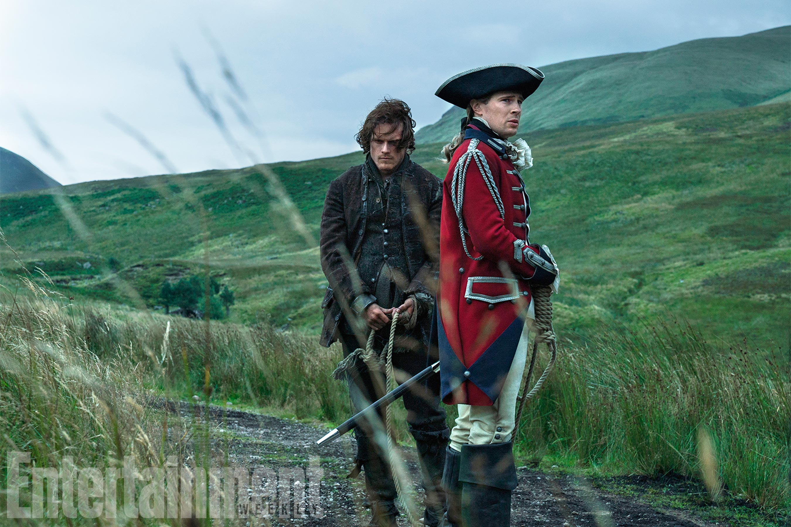 Jamie Fraser and Lord John William Grey