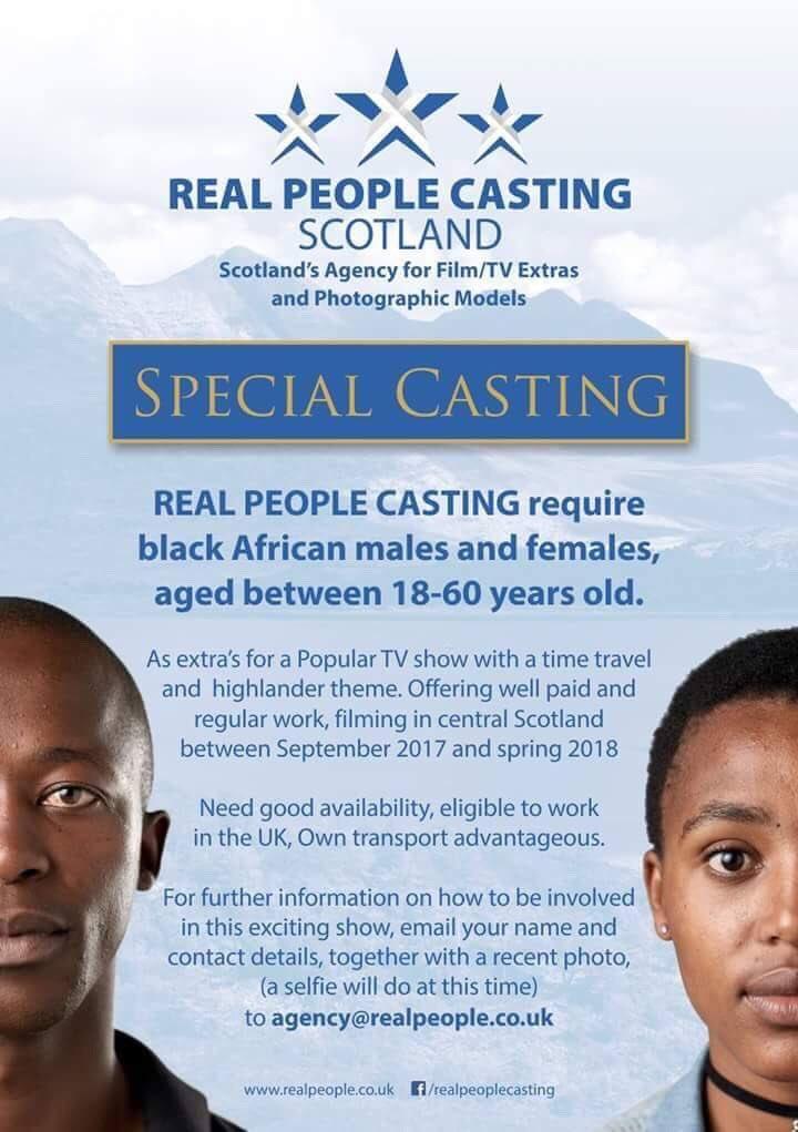 Outlander casting call