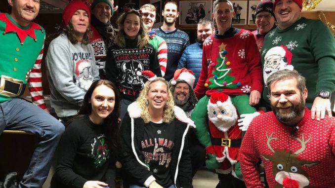 Outlander Crew Christmas