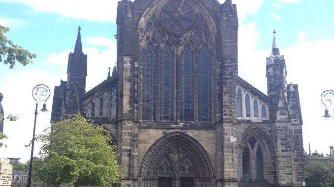 Glasgow Cathedral - front