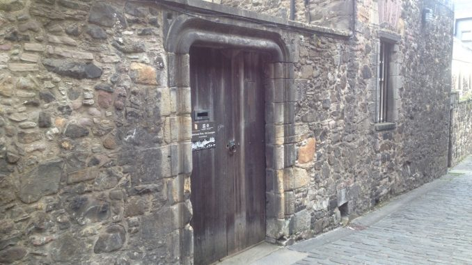 Bakehouse Close Brothel Door