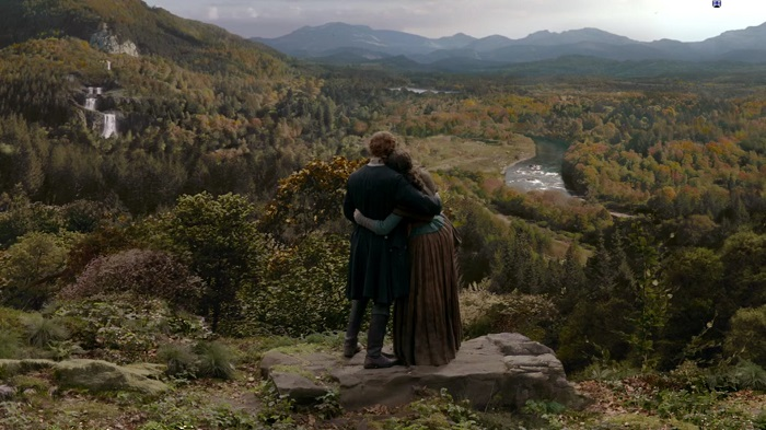 Claire and Jamie- Frasers' Ridge