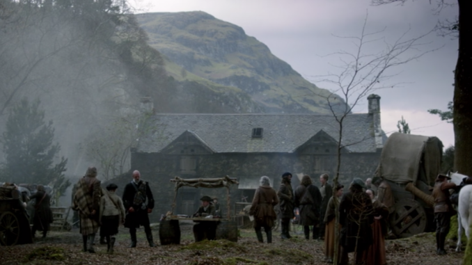 Ivy Cottage in Outlander
