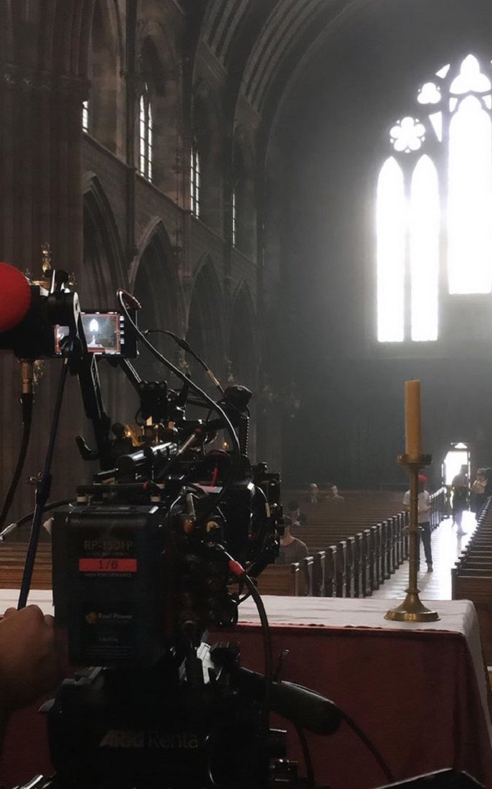 Thomas Coats Church, Paisley - Outlander filming