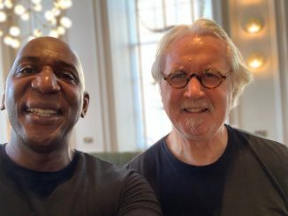 Colin Mcfarlane and Billy Connolly