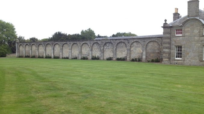 Hopetoun House Behind Stables