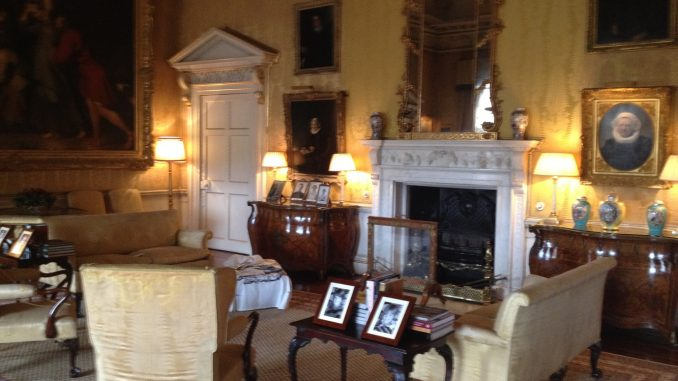 Hopetoun House Living Room