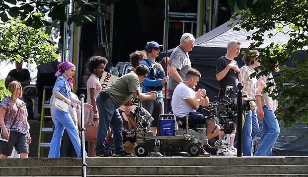 Outlander Filming - Queens Park