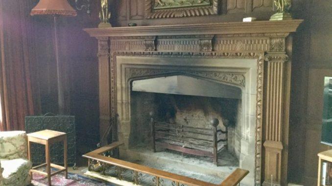 Hunterston House fireplace