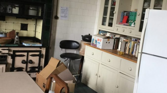 Hunterston House kitchen