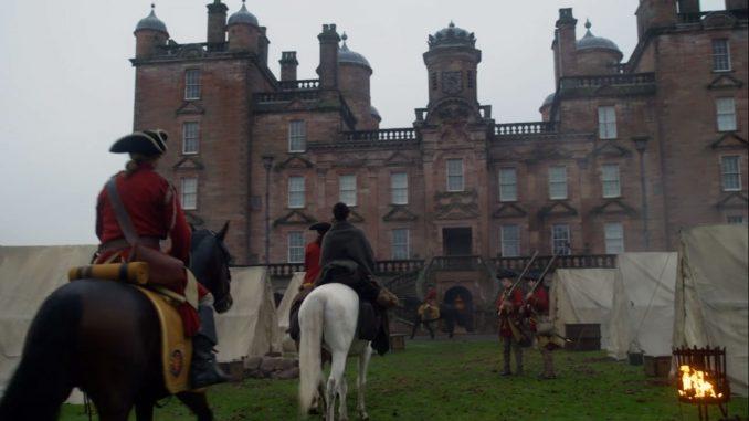 Drumlanrig Castle, Outlander