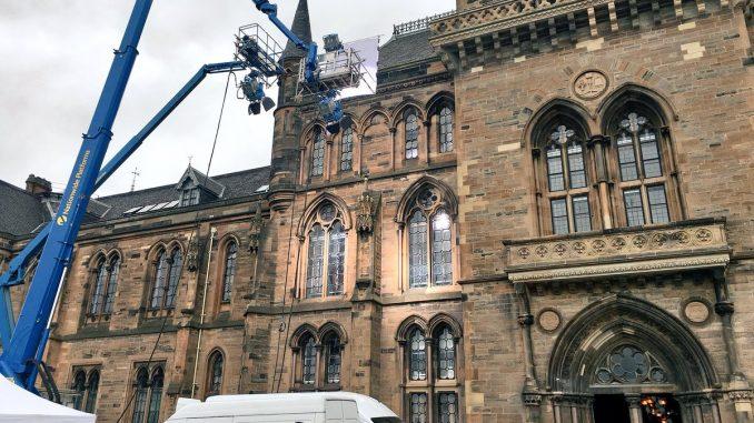 Glasgow University, Outlander filming