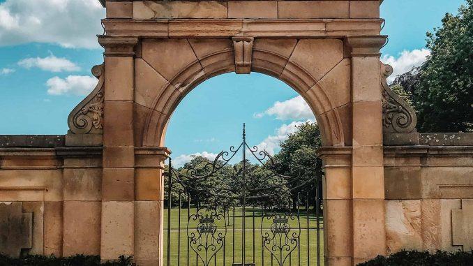 Gosford House gate