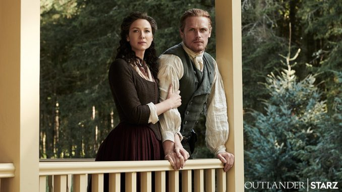 Claire and Jamie, Big House, Outlander