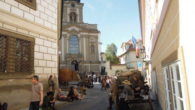 Vojensky kostel svateho Jana Nepomuckeho
