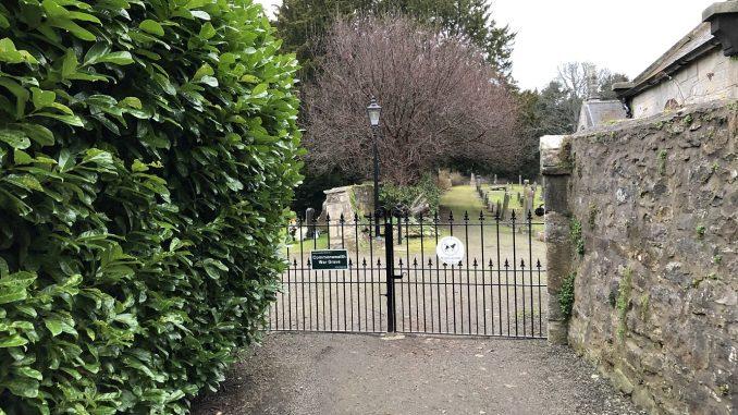 Gate to Abercorn Cemetery