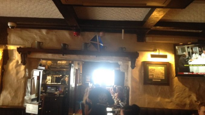 Inside Worlds End pub