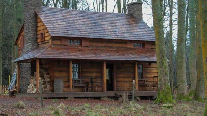Fraser's Ridge cabin