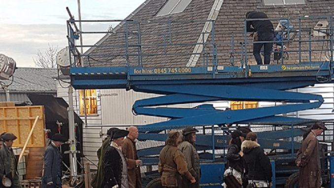 Outlander Filming at The Mart