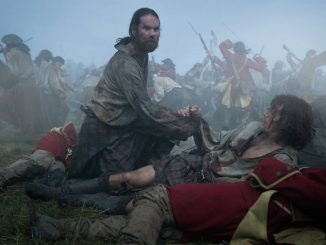 Murtagh and Jamie at Culloden