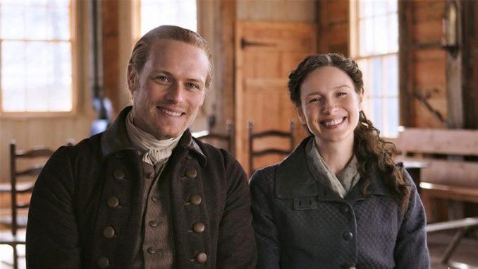 Outlander season 6 - Sam Heughan Caitriona Balfe